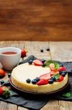 Ricotta cheesecake Stock Images