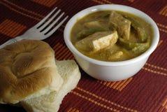 Ricotta indiana dell'alimento Paneer Immagini Stock Libere da Diritti