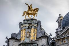 Rid- staty av Charles Alexander av Lorraine Royaltyfri Foto