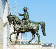 Rid- staty av general Guillaume Henri Dufour, Genève, Swi Fotografering för Bildbyråer
