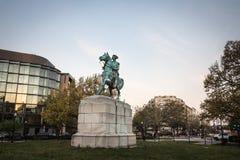 Rid- staty av George Washington Royaltyfria Foton
