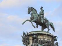 Rid- staty av kejsaren Nicholas Royaltyfri Fotografi