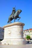 Rid- staty av konungen John I Royaltyfria Foton