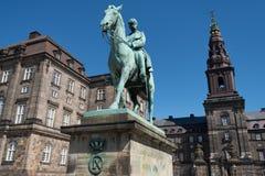 Rid- staty av kristen IX Arkivbild