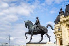 Rid- staty av lovsång I royaltyfria foton