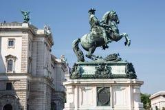 rid- staty för ï¿ ½ av prinsen Eugene av savojkål, en av greatesna Royaltyfria Bilder