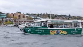 Rida änderna, sightstad turnerar program i Seattle, Washington Royaltyfria Bilder