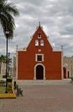 rida för de iglesia itzimn M mexico arkivbild