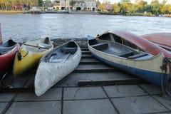 Rida för kanoter royaltyfri foto