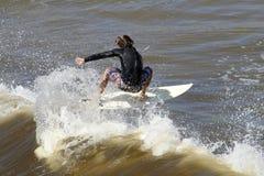 rida wave Royaltyfri Fotografi