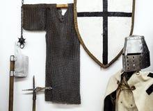 Riddare Armor Arkivfoto