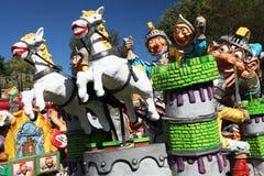 Riddare och hästar Royaltyfri Foto