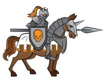 Riddare Rider Arkivfoton