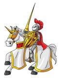 Riddare Rider Royaltyfri Foto
