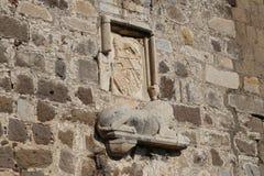 Riddare Symbols i den Bodrum slotten Royaltyfri Foto