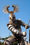 Riddarekamp i Verona Arkivfoto