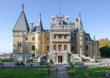 Riddares slott Arkivfoto