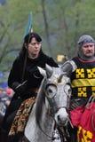 Riddares turnering Royaltyfri Bild