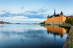 Riddarfjarden in Stockholm Royalty Free Stock Photo