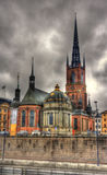 Riddarholm Church in Stockholm, Sweden Stock Images
