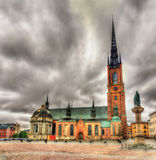 Riddarholm Church in Stockholm Royalty Free Stock Photos
