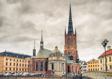 Riddarholm Church In Stockholm, Sweden Stock Photography