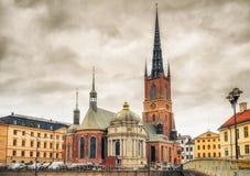 Riddarholm Church In Stockholm, Sweden Stock Photo