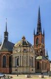 Riddarholm kościół, Sztokholm Obraz Stock