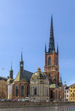 Riddarholm kościół, Sztokholm Obraz Royalty Free