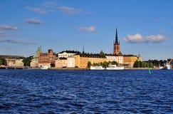 riddarholmen斯德哥尔摩 免版税库存图片