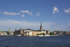 Riddarholmen, Éstocolmo Fotos de Stock Royalty Free
