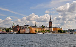 Riddarholmen. The island Riddarholmen in Stockholm Stock Photography