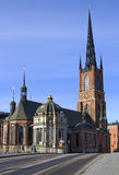 Riddarholmen church. Royalty Free Stock Photo