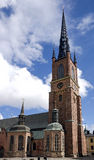Riddarholmen church Royalty Free Stock Photo