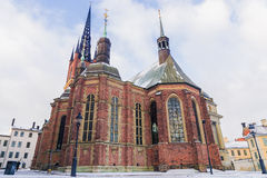Riddarholmen Church in Stockholm, Sweden Stock Photo