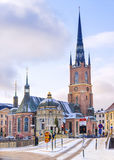 Riddarholmen Church in Stockholm, Sweden.  Stock Photography