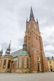 Riddarholmen Church tower Royalty Free Stock Photos