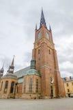 Riddarholmen Kościelny wierza Zdjęcia Royalty Free