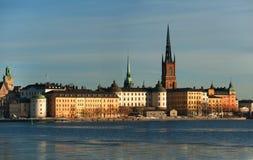 Riddarholmen Stockholm Arkivfoto