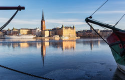Riddarholmen, Stockholm. Riddarholmen, a famous landmark in Stockholm city Royalty Free Stock Image
