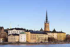 Riddarholmen, Stockholm Stock Photography