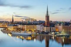 Riddarholmen, Stockholm Stock Image