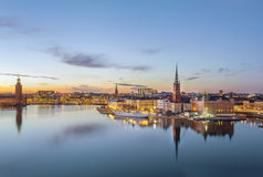Riddarholmen, Stockholm Royalty Free Stock Photo