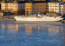 Riddarholmen Stockholm in winter. Stock Images