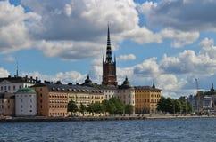 Riddarholmen w Sztokholm Zdjęcia Royalty Free