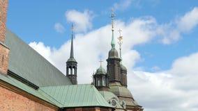 riddarholmkyrka, en av äldst byggnad i stockholm, Sverige, arkivfilmer