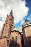 Riddarholmskyrkan (εκκλησία Riddarholmen), Riddarholmen, Στοκχόλμη Στοκ φωτογραφία με δικαίωμα ελεύθερης χρήσης