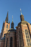 Riddarholmskyrkan Στοκχόλμη Στοκ Εικόνες