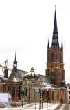 Riddarholmskyrkan в Стокгольме Стоковые Изображения