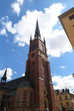 Riddarholmskyrkan, Стокгольм, Швеция Стоковое Фото